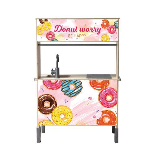 donut kraam keuken sticker
