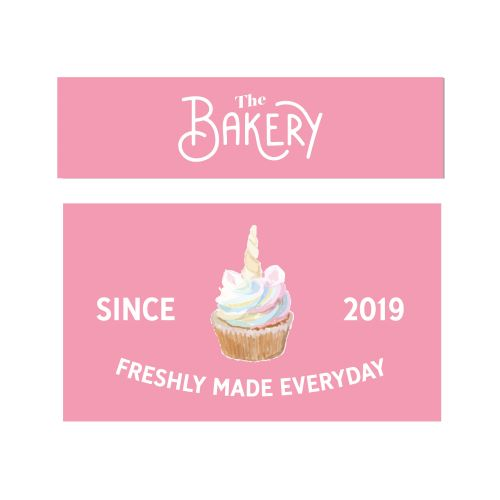 the bakery keuken stickers-