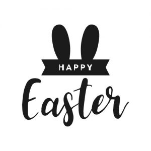 happy easter strijkapplicatie
