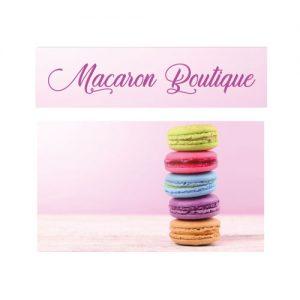 macaron boutique keuken sticker
