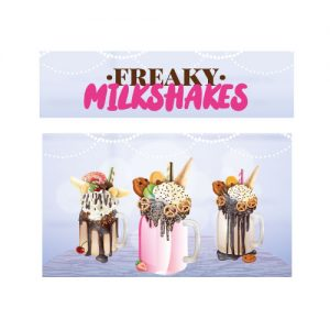 Freaky milkshakes