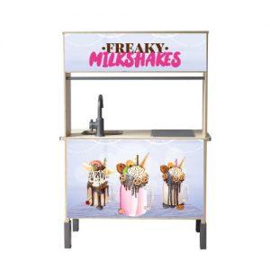 Freaky milkshakes keuken duktig
