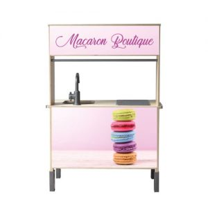 Macaron shop keuken sticker