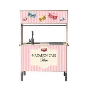 Macaron café keuken sticker duktig