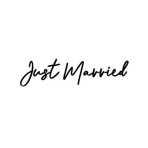 just married autosticker