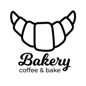 Bakery keukendeur sticker