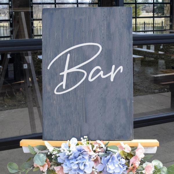 bar sticker bord