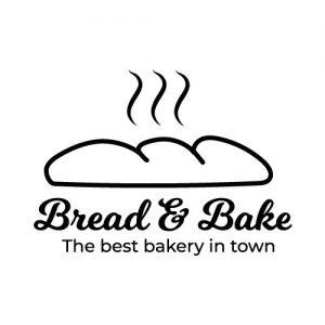 bread deursticker