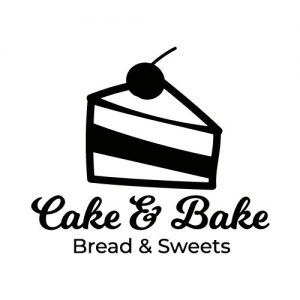 Cake bake sticker