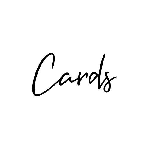 Cards sticker