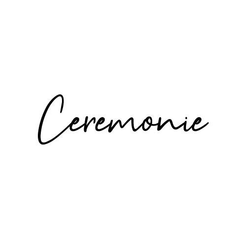 ceremonie sticker