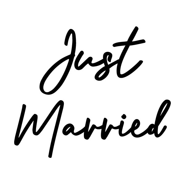 just married auto