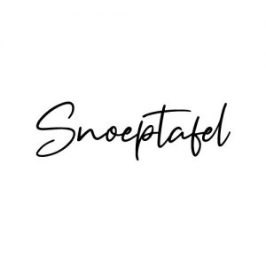 snoeptafel sticker