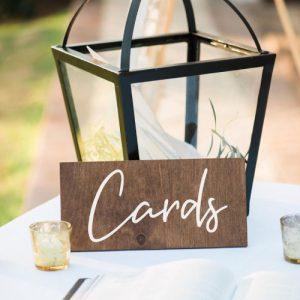cards bord op tafel