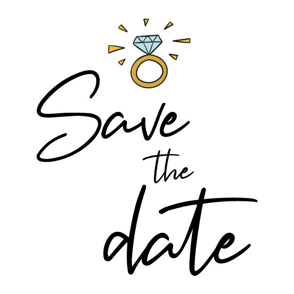 save date ring
