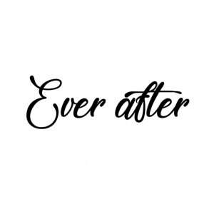 ever after schoensticker