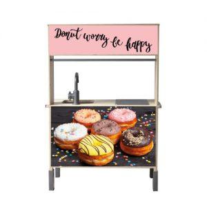 Donut worry keuken ducting