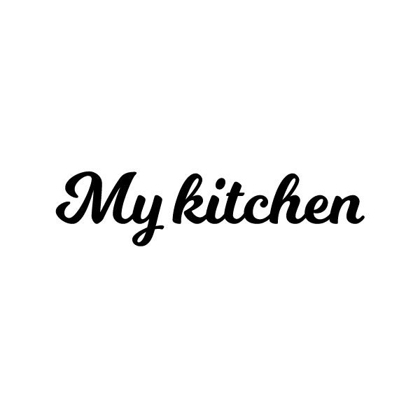My kitchen sticker