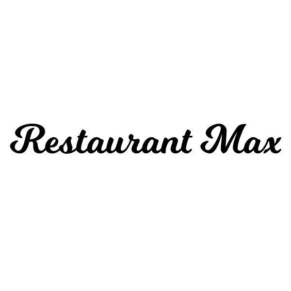 Restaurant naam keuken sticker