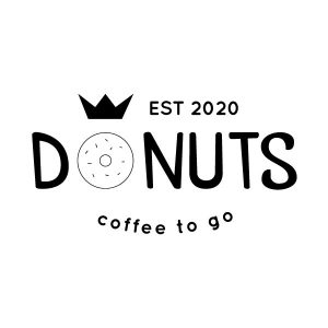 Donuts keuken sticker