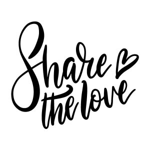 Share the love strijkapplicatie