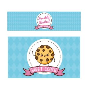 Sweet cookie keukensticker