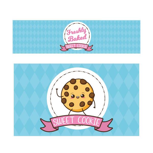 Sweet cookie keukensticker