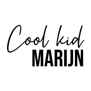 Cool kid strijkapplicatie