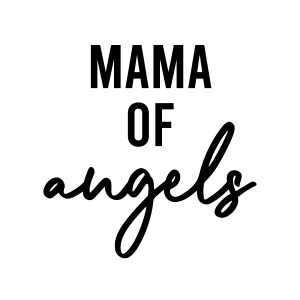 Mom of angels strijkapplicatie