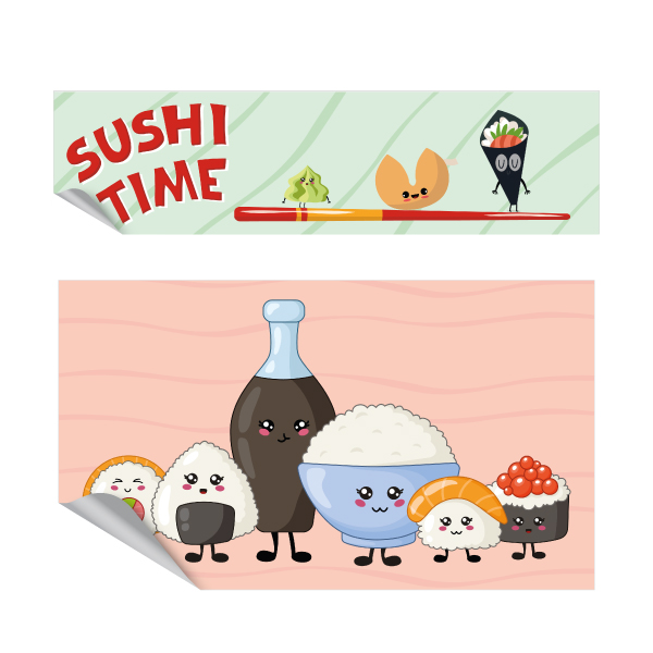 Sushi-time-keuken-sticker