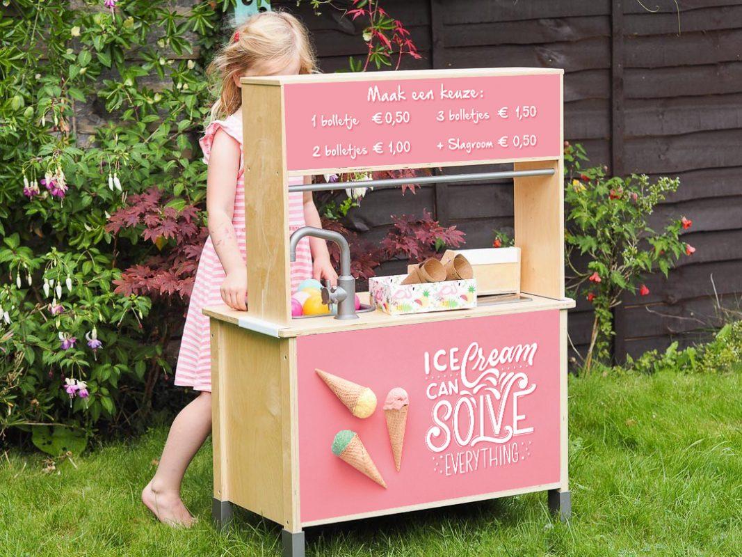 tuin ijsjes