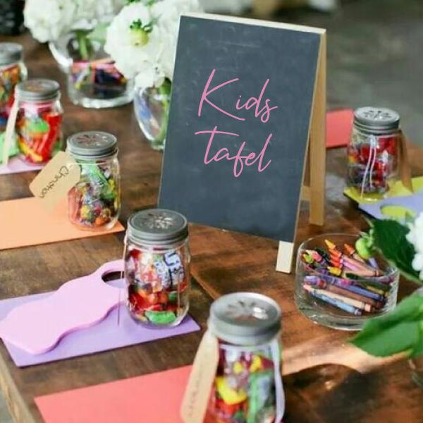 Kids tafel sticker