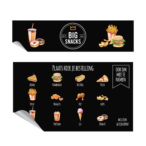big snacks keukensticker