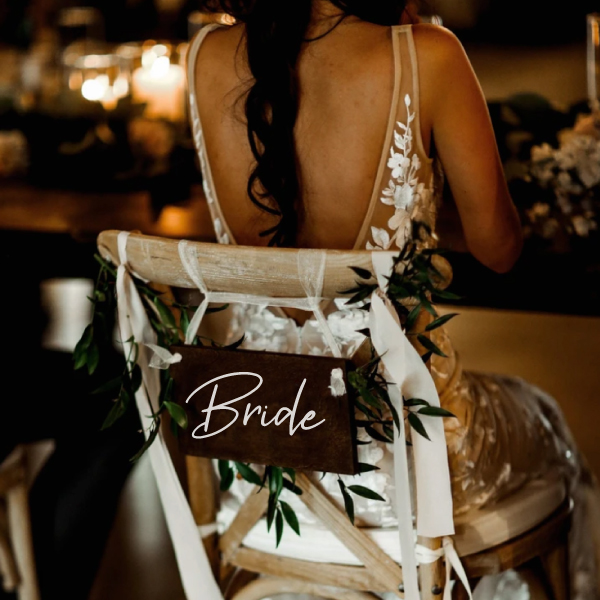 Bride woordsticker