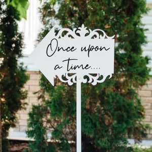 Once upon wedding quote