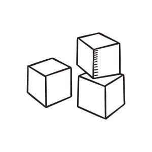 Blokken opruimsticker
