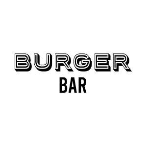 Burger bar deursticker