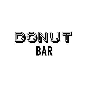 Donut bar deur sticker