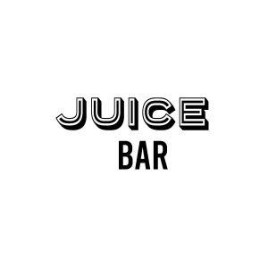 Juice bar deur sticker
