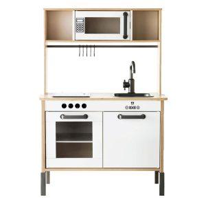 Keuken onderdelen sticker set op keuken